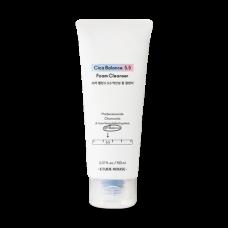 Очищающая слабокислотная пенка   Cica Balance 5.5 Foam Cleanser   ETUDE HOUSE