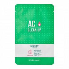 Маска для проблемной кожи   ОЧИЩАЮЩАЯ   AC Clean Up Mask Sheet   ETUDE HOUSE