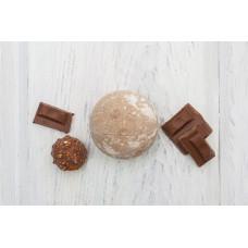 Бурлящий шарик для ванны  КОФЕЙНО-ШОКОЛАДНЫЙ СОРБЕТ  масло какао, экстракт кофе  120g Кафе Красоты